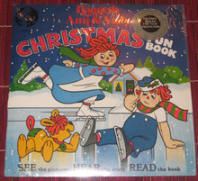 RAGGEDY ANN & ANDY - Christmas Fun Book
