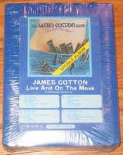 COTTON, JAMES - Live And On The Moove