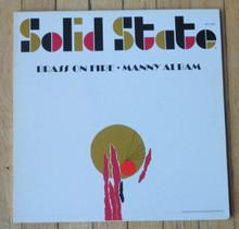 ALBAM, MANNY - Brass On Fire
