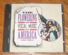 FLOWERING OF VOCAL MUSIC IN AMERICA - V.A.