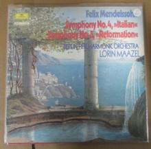 BERLIN PHILHARMONIC - Mendelssohn Symphony #4 & #5