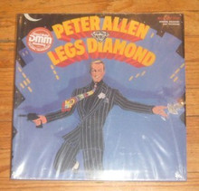 ALLEN, PETER - LEGS DIAMOND - Cast Recording