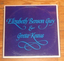 BENSON GUY, ELIZABETH / GRETA KRAUS