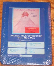 ANDREA TRUE CONNECTION - More More More 8 Track Tape