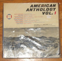 AMERICAN ANTHOLOGY VOL. 1 - Concord Philharmonia