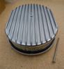 12 INCH FINNED ALUMINUM AIR CLEANER TOP