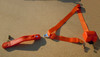 3 PT. RETRACTABLE SEAT BELT ORANGE