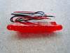 "5 LED 5"" RED AUXILIARY STRIP LIGHT"