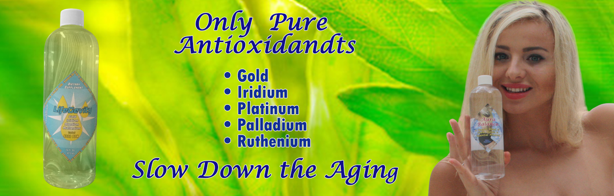 Colloidal Silver and Pure Antioxidants