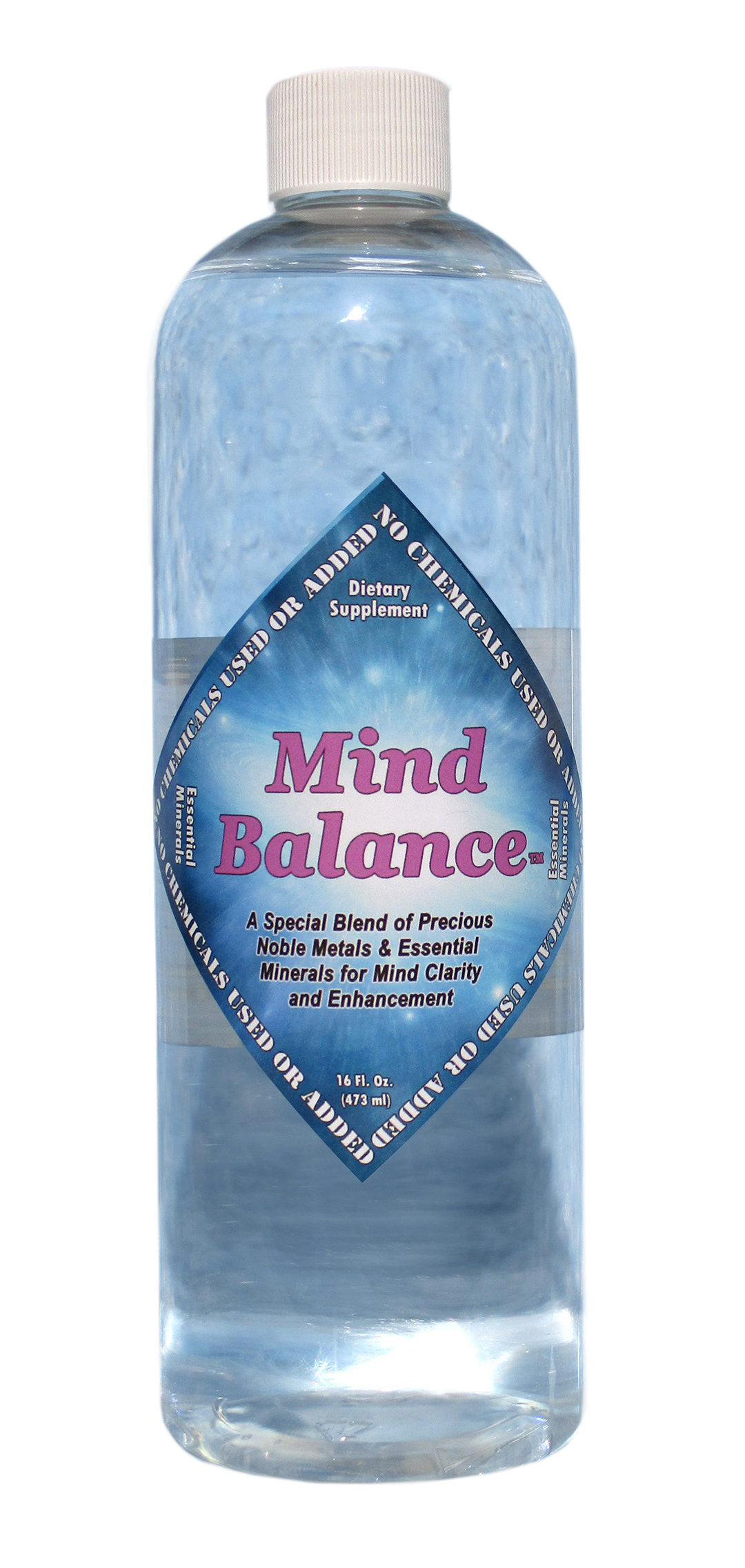 Mind Balance with Gold: 2000ppm Platinum 250ppm Iridium 250ppm Rhodium 250ppm Ruthenium 250ppm Magnesium: 2000ppm Pure Distilled Water