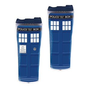 Docto Who Tardis Travel Cup
