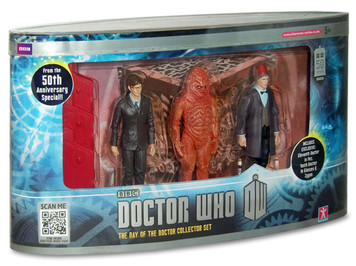 Doctor Who - The Day of the Doctor Collector Set Figures