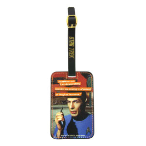 Spock Graphic Luggage Tag