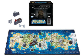 Mini Westeros 4D Map Puzzle