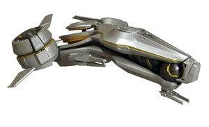 Halo 5 Ship - Forerunner Phaeton