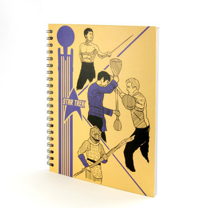 Star Trek School Folder Notebook