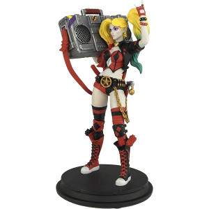 LIMITED EDITION: Exclusive - Boom Box Harley Quinn Statue