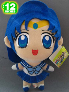 Sailor Mercury Chibi Plush Toy