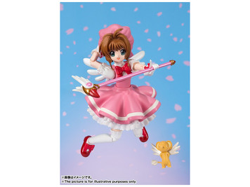 S.H. Figuarts Card Captor Sakura Figure (Pink Dress)