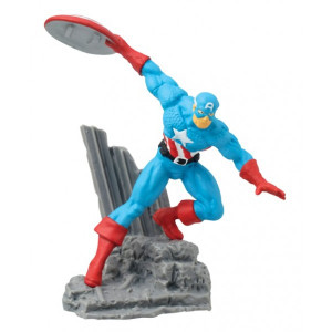 Captain America Diorama Figure