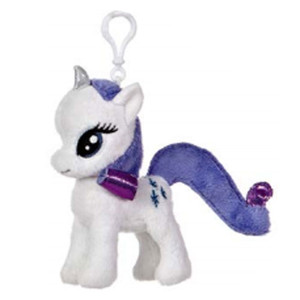 My Little Pony Plush Doll Rarity Clip-On