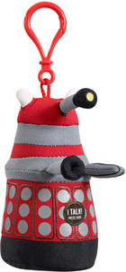 Doctor Who Talking Plush Clip-on - Red Dalek