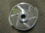 "316ss 2 vane impeller Gorman Rupp   8.750"" ML08311150"