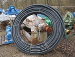 Plexco Blue Stripe pipe