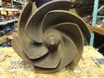 "3196   XLT   Goulds Impeller   6 Vane   6x8x13   8x6x13  Trim To: 12.043""   Material: DI   55329 Pattern #  090-407-33-1013 - Part #"