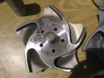 """3x4x10   Durco Impeller    MY35641A  316ss  8.65""""  WB05121465"""
