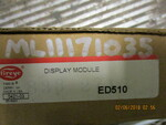 Fireye Display Module ED 510