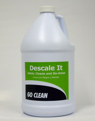 DESCALE IT is a Multi-use Product!     Truckmounts and Portables    Dishwashing Machines    Waterlines and Submerged Water Heaters    Stainless Steel Surfaces, Coffee Urns, Tile, Walls and Floors