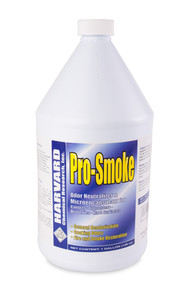 "Pro-Smoke works by micro encapsulation and is not an odor mask or covering agent. Simply speaking, this product ""coats"" or ""encapsulates"" foul-smelling matter, seals the contamination and keeps the odor molecules from entering our airspace. It effectively neutralizes odors in carpets, fabrics, cars, boats, bathrooms, kitchens, garbage bins, dumpsters, etc."