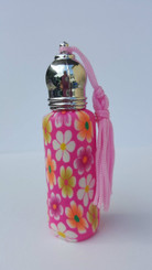 Polymer Clay Roll On Perfume Bottle