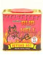 Habanero Rub from Hell