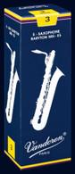 Vandoren Traditional Baritone Saxophone Reeds Box of 5