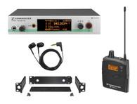 <h3>NEW PROMOTIONAL LOWER PRICE!!</h3> <h3>What's in the box?</h3> <ul> <li>1 SR 300 G3 stereo transmitter</li> <li>1 EK 300 G3 stereo diversity receiver</li> <li>1 IE 4 earphones</li> <li>1 GA 3 rack mount</li> <li>1 NT 2 power supply unit</li> <li>1 antenna</li> <li>2 AA size batteries</li> <li>Operating instructions</li> </ul>