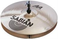 "SABIAN 14"" AA Rock Hats Brilliant Finish"