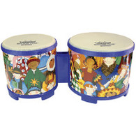 World Percussion - Rhythm Club Bongo 4.5'' X 5''