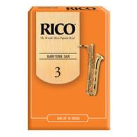 Rico Baritone Saxophone Reeds Box of 10