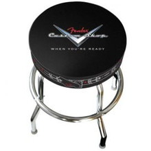 Fender Custom Shop Logo Bar Stools