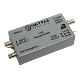 2/4/6 - Switch Selectable Gain Single Ended and Differential Preamplifier