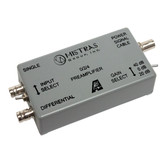 0/2/4 - Switch Selectable Gain Single Ended and Differential Preamplifier