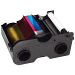45100 - Ribbon Fargo YMCKO w/ Cleaning Roller for DTC 4000/4250e 250 Prints