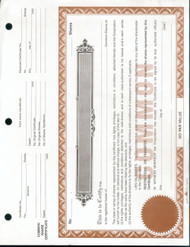 Share Certificates--25 Loose