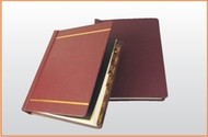 Traditional 3C1 Post Binder with Gold Foil Stamping