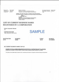 Business Names List-Certified