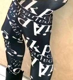 PCC Text Leggings