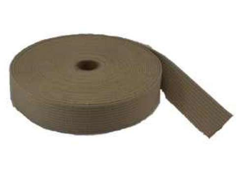 "Fuel Tank Webbing - Tan 2"" - PRICE PER FOOT- 3531T53"