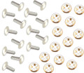 Allis Chalmers Side Nameplate Rivets and Stainless Clips Set - DJS016